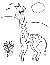 Giraffe Coloring Pages Giraffe Coloring Pages For Kids Printable Coloring Pages For by Giraffe Coloring Pages