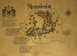 Map Of Romania Romania Ancient Map By Zaigwast On Deviantart