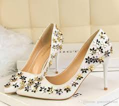wedding shoes gold cinderella wedding shoes 2017 gold silver sequined high heel