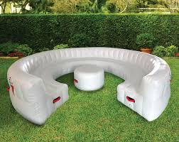 Inflatable Chair And Ottoman by Massive Inflatable Outdoor Party Sofa Seats 30 Guests The