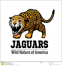 jaguar logo jaguar logo icon vector character illustration stock vector