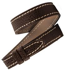 bracelet montre images Herm s double turn leather watch strap dark brown grained calf jpg