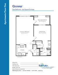apartment homes at twin lakes senior living community life