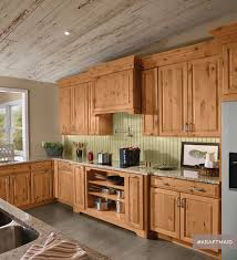 Kitchen Cabinet Wood Stains Detrit Us by Kraftmaid Rustic Alder Kitchen Cabinetry In Natural Rustic