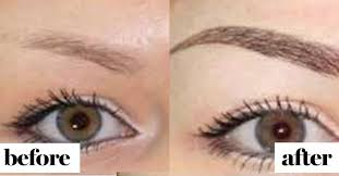 what it u0027s really like to get permanent eyebrow tattoos see before