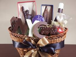 chocolate gift basket nyc chocolate gourmet gift basket 3 65 lbs li lac chocolates