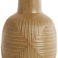 Wicker Floor Vase Diamond Relief Vase Pottery Jonathan Adler