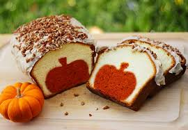 pumpkin peekaboo pound cake best cheap easy thanksgiving