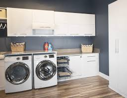 Laundry Room Accessories Storage Modern Laundry Room Featuring Custom Cabinet For Laundry Room