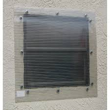 shop storm busters 48 in x 96 in clear polycarbonate hurricane