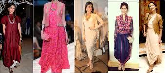 Draping Designs Celebrities Stylish U0026 Desi Look In Designer Kurtis U0026 Tunic