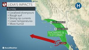 San Felipe Mexico Map by Tropical Storm Lidia To Further Lash Mexico U0027s Baja California Into