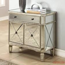 Mirrored Nightstands Cheap Nightstands Distressed Furniture Small Mirrored Side Table Glass