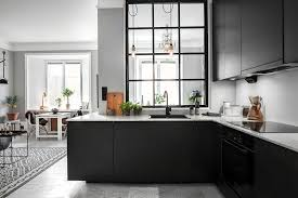 black kitchen cabinets in a small kitchen how can charcoal black kitchen cabinets make a small kitchen