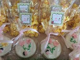popcorn favor bags personalized treats just baked
