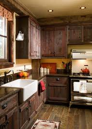 Rustic Cabin Kitchen Ideas by Heritage Cabin