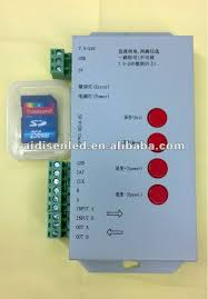 rgb led light controller pixel dmx rgb led light controller t1000 supplier with best price
