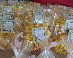 popcorn favor bags popcorn favor bag etsy
