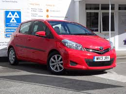 used toyota yaris 1 4 for sale motors co uk