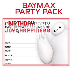 free baymax printable party decoration pack part 1 mrs