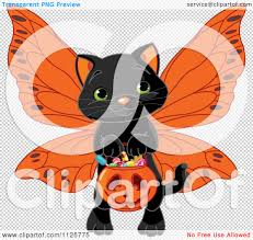 cute cat halloween backgrounds cartoon of a cute black halloween cat wearing wings and trick or