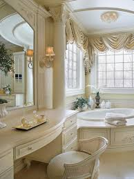 white vanity bathroom ideas amazing elegant bathroom ideas masterigns with curtain sets