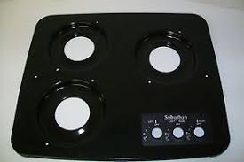 suburban 2940abk 3 burner rv cooktop sdn3 replacement top range