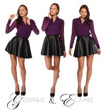 chic clothing georgie elaine the new brand of vegan and eco chic