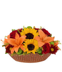 Fall Floral Decorations - all fall floral centerpiece at from you flowers