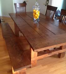 kitchen marvelous farmhouse dining room farm table with bench