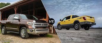nissan tundra car 2016 toyota tundra vs 2015 nissan titan