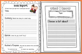 story report template 6 non fiction book report template middle school progress report