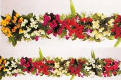 decoration flowers artificial flower decoration in india