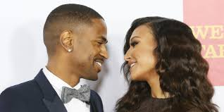 naya rivera and big sean s christmas card huffpost