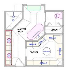 master bedroom and bath plans