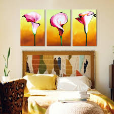 flower art oil painting flower art oil painting chinese wall oil