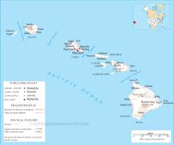 Hawaii State Map by Hawaii State Map A Large Detailed Map Of Hawaii State Usa