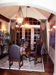 dining room amazing dining room window treatment ideas for