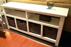 Hallway Tables With Storage Sofa Table With Storage Best Sofa Tables Ideas On Entryway Table
