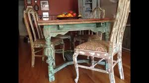 Shabby Chic Kitchen Furniture by Creative Shabby Chic Kitchen Table Decorating Ideas Youtube