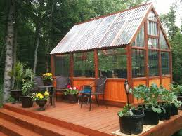 Backyard Greenhouse Ideas Greenhouse On Backyard Deck Best Deck Patio Garage Ideas For