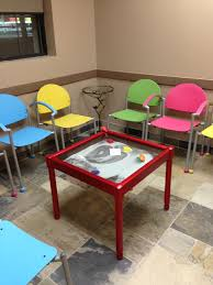 Office Furniture Chairs Waiting Room Colorful Waiting Room With Bola Chairs Affordable And Colorful