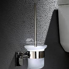 steel bathroom accessories sets wall mount chrome