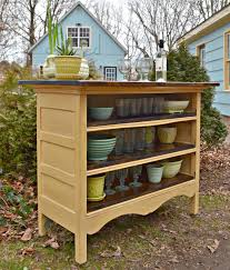heir and space an antique dresser turned kitchen island