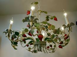 Tole Chandelier 39 Best Vintage Tole Lighting Images On Pinterest Chandeliers