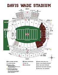 Stadium Floor Plan by Mississippi State Athletics