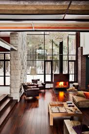 ideas fascinating modern rustic cottage interiors download