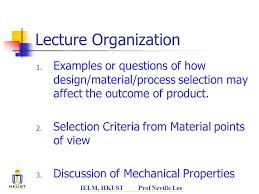 design criteria questions ielm215 manufacturing processes ppt download