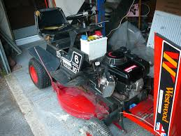 honda engine in a westwood tractor mower in thetford norfolk