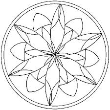 Coloriage Mandalas en Ligne Gratuit à imprimer